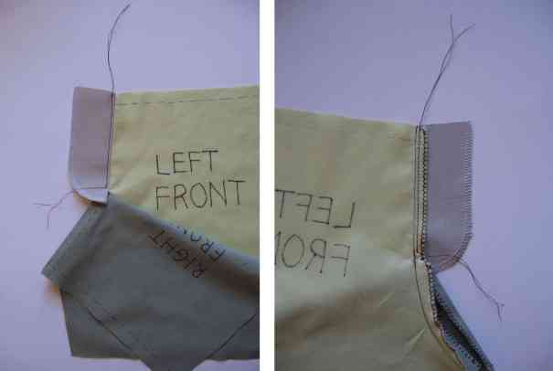 15 understitch fly facing front