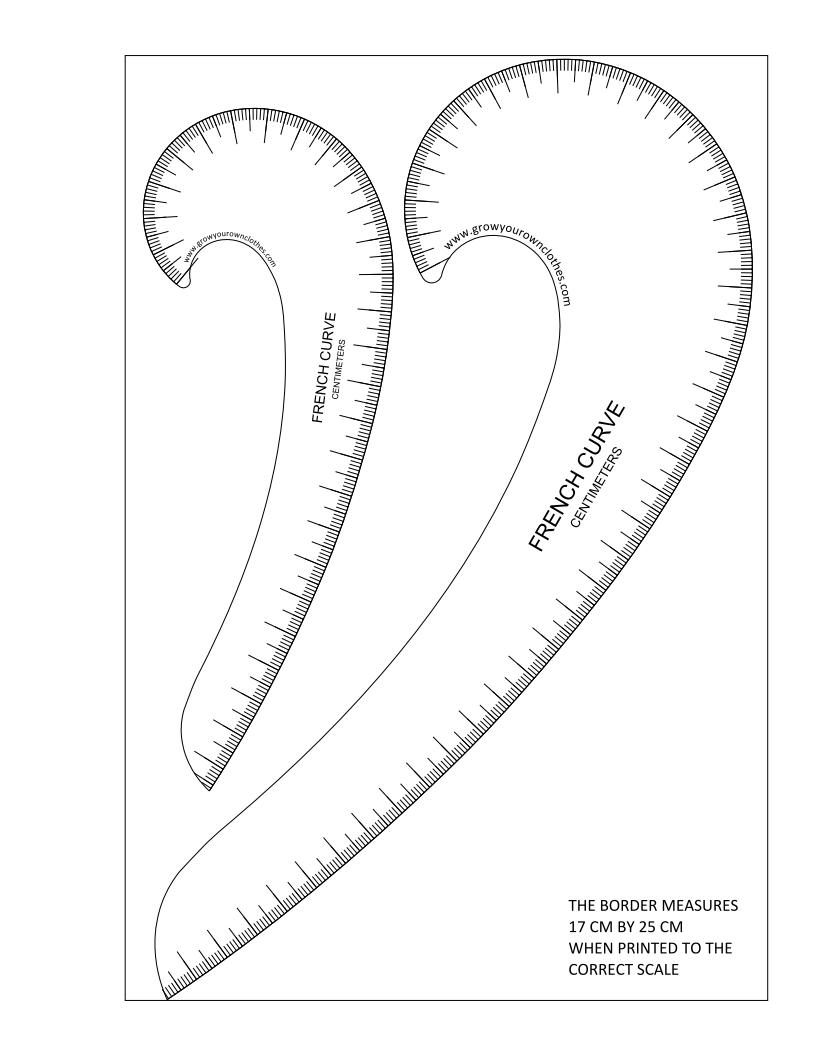 Remarkable image throughout printable french curve