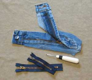 save jeans zippers