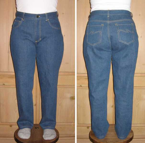 016D jeans front and back