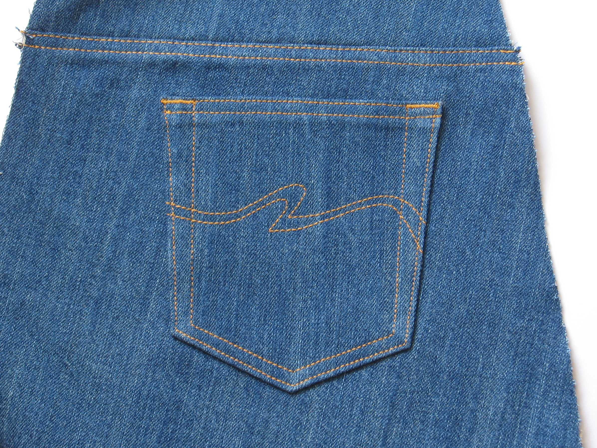 Jeans Pockets | Grow Your Own Clothes