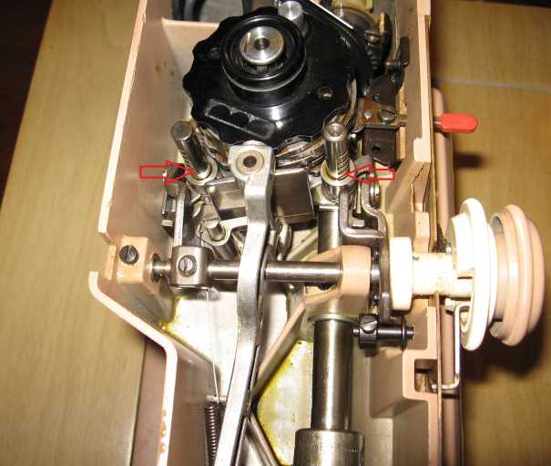 Singer 401A stuck parts