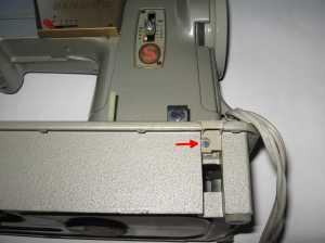 Singer 328K plug for treadle belt notch