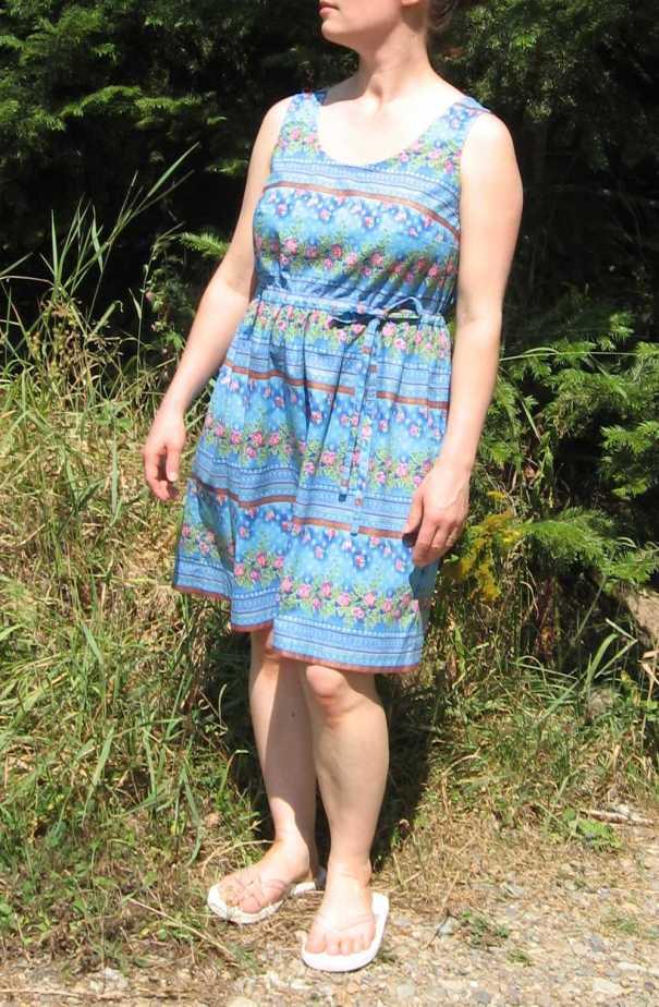 blue summer dress 2