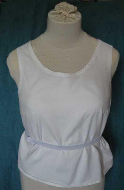 blue summer dress finding waistline
