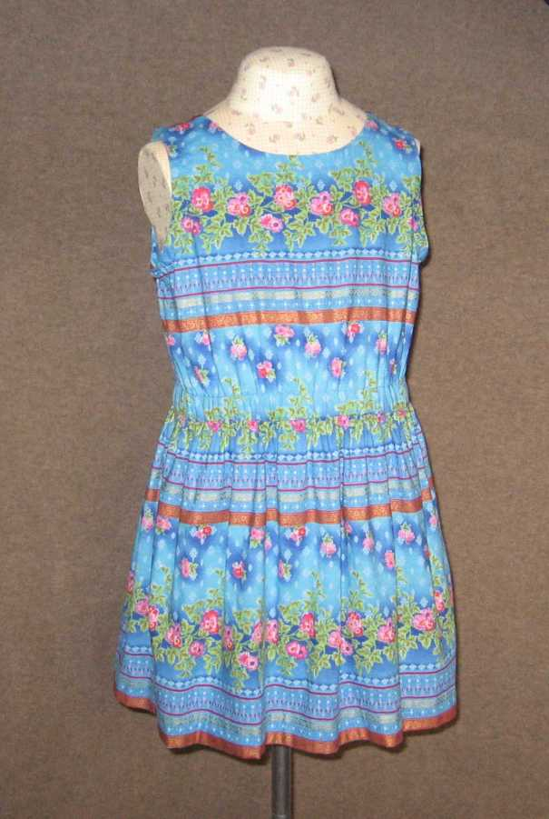 k2 blue dress