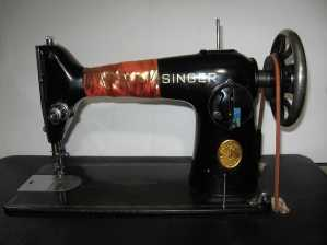 Singer 201-2 on treadle