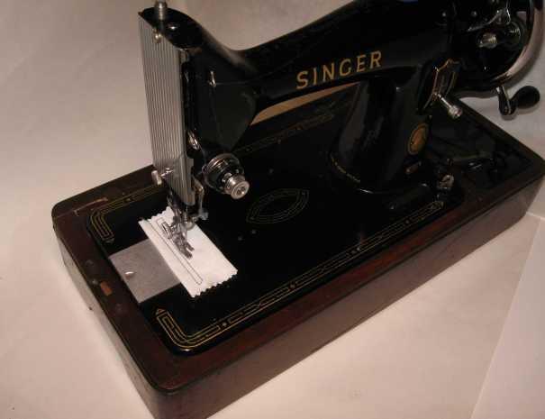 Singer 99 stitching