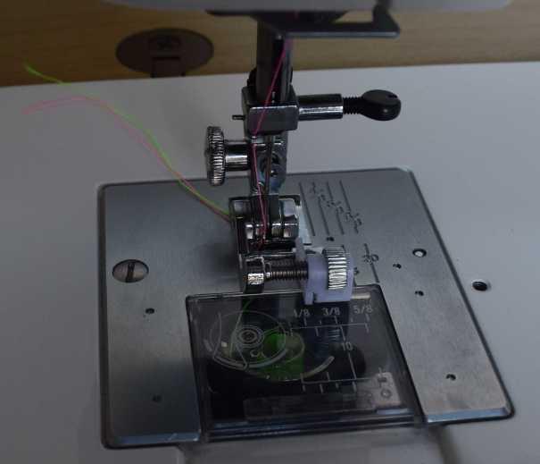 Janome 712T quarter inch seam allowance