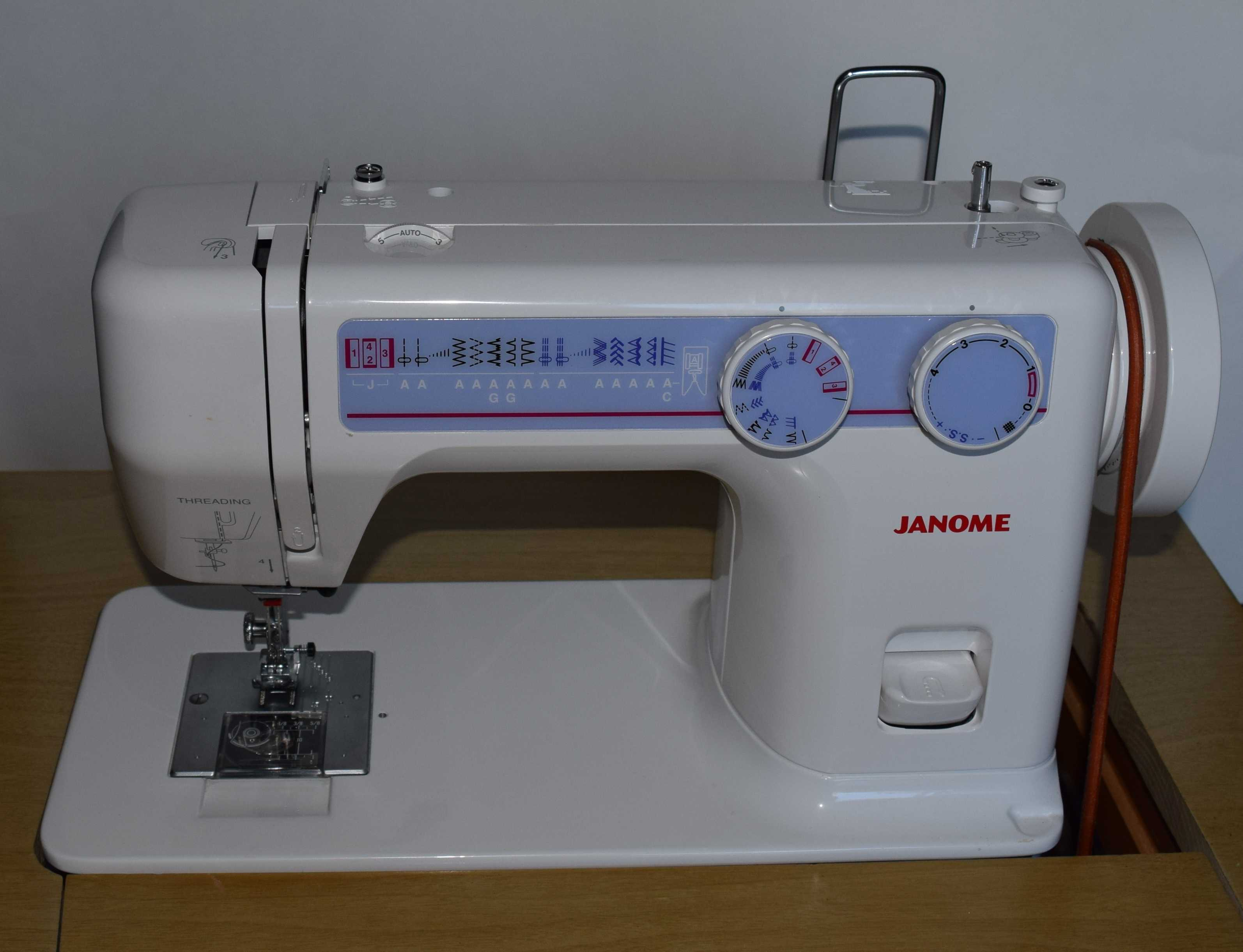 Review janome 712t treadle sewing machine grow your own for Best home decor sewing machine