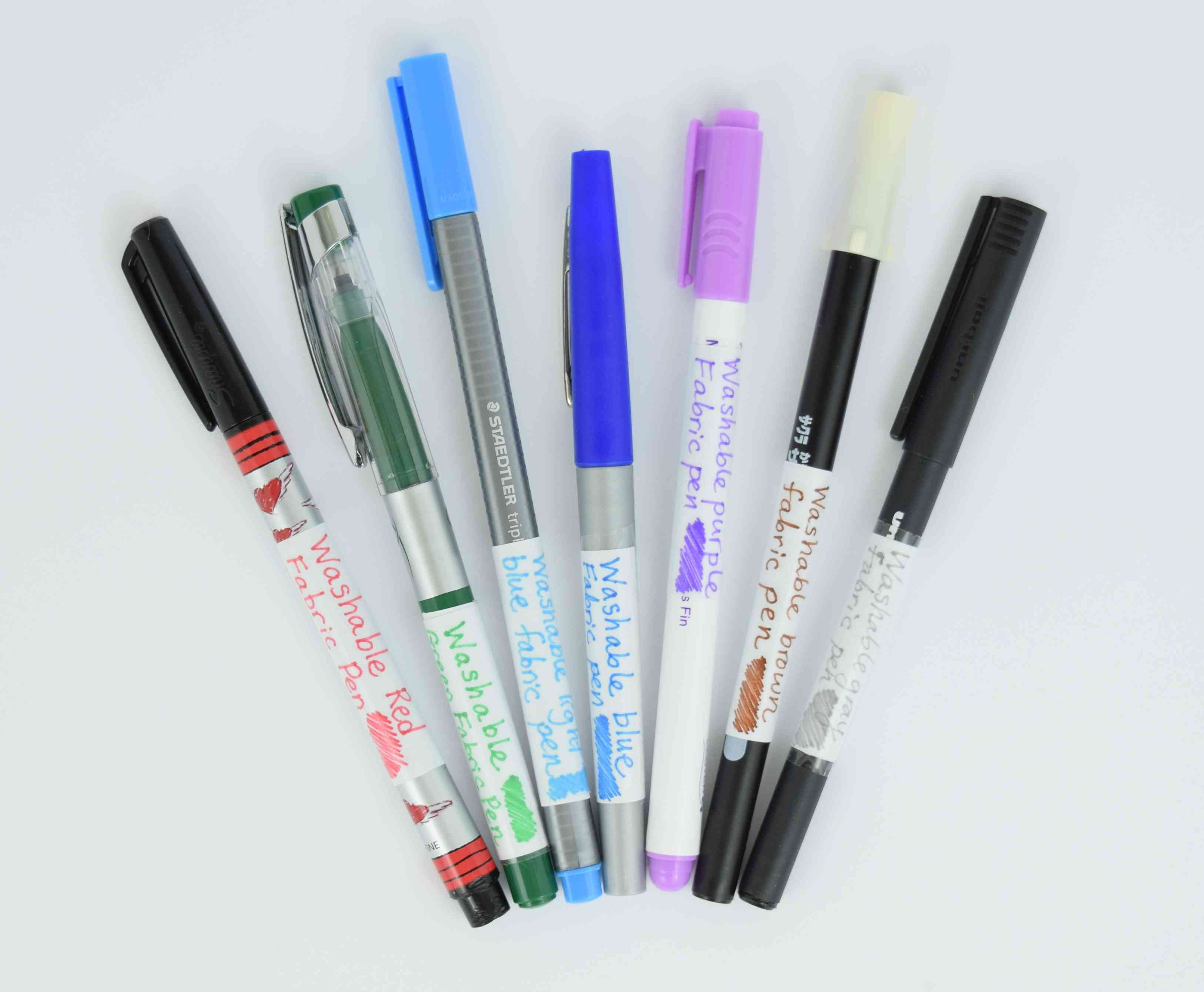 Wipe Off Fabric Marker Pen Fine Line